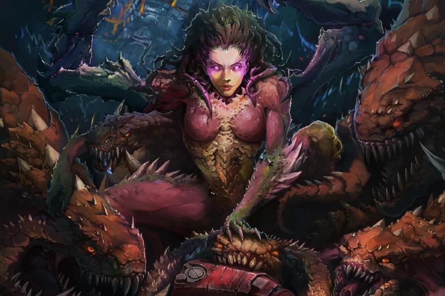 https://ae01.alicdn.com/kf/HTB1cKdHPVXXXXXBaFXXq6xXFXXXr/-font-b-Sarah-b-font-font-b-Kerrigan-b-font-Wings-Monster-Fantasy-Fabr-Silk.jpg
