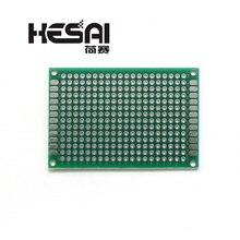 4x6 см PCB двухсторонний Прототип PCB DIY универсальная печатная плата