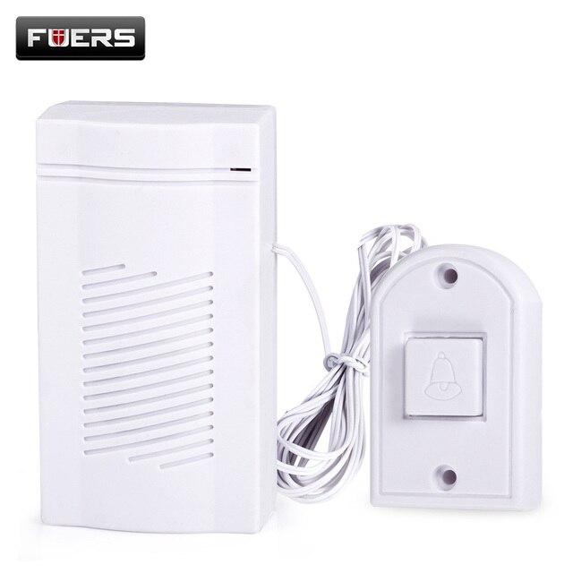 Fures Door Bell Installation Convenient Design Concise Sound Sound Host Power Saving Design Power Consumption Silent Durable Use