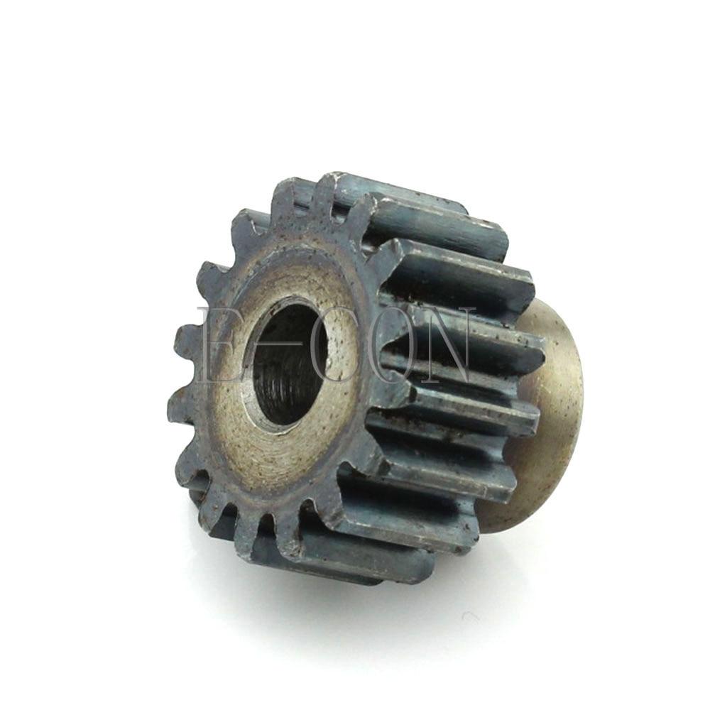 1.5M15T 5-12mm Bore Hole Width 12mm Module 1.5 Motor Metal Gear Wheel Top Screw