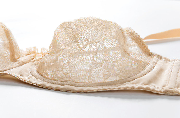 Delimira женский прозрачный кружевной бюстгальтер без подкладки с полной чашкой на косточках бюстгальтер полного размера плюс
