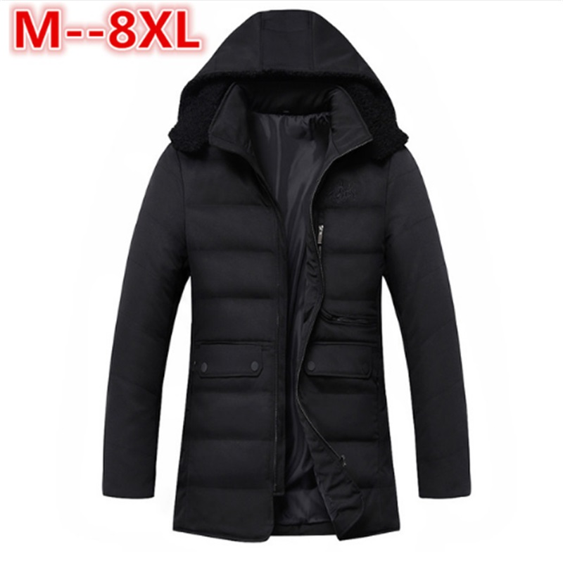 10XL 8XL Winter Thick Padded Parka Men Jacket Coat Russian Wadded Long Hooded Casual Warm Snow Windbreaker Overcoat Male Jackets цены онлайн