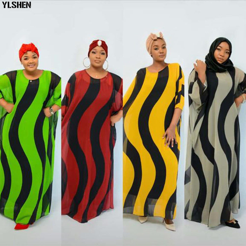 Length 145cm Bust 130cm African Dresses For Women Africa Clothing Muslim Long Dress Length African Dress For Lady 2 Piece Set