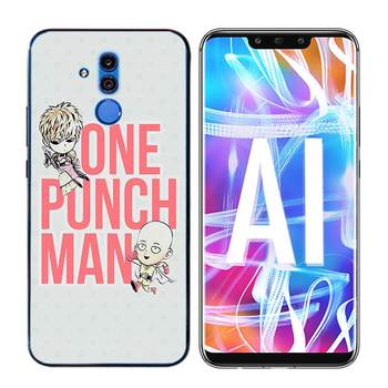 Transparent Soft Silicone Phone Case Cool One Punch Man for Huawei Mate Honor 20 10 9 Pro Lite 7C Cover 1