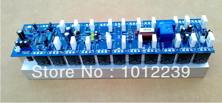 Assembled 1200W Powerful amplifier board / mono amp board (ont include heatsink) недорого