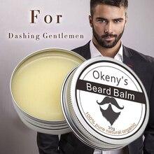 Okeny's Beard Wax Men Natural Organic Beard Balm For Beard Moisturizing Smoothin