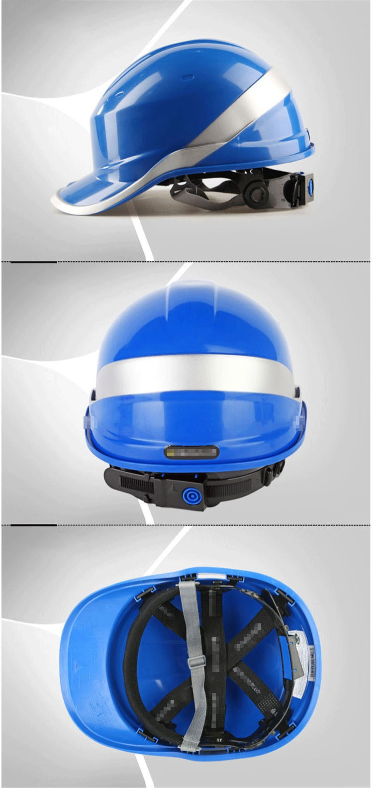 Safety Helmet Hard Hat Work Cap ABS Insulation Material With Phosphor Stripe Construction Site Insulating Protect Helmets 102018 (5)
