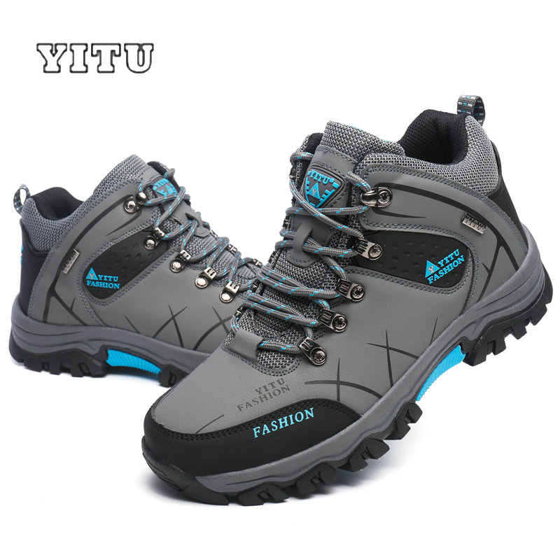 Image 5 - Plus Size 39 45 46 47 Brand Hiking Shoes Men Spring Hiking Boots Mountain Climbing Shoes Outdoor Sport Shoes Trekking Sneakers-in Hiking Shoes from Sports & Entertainment
