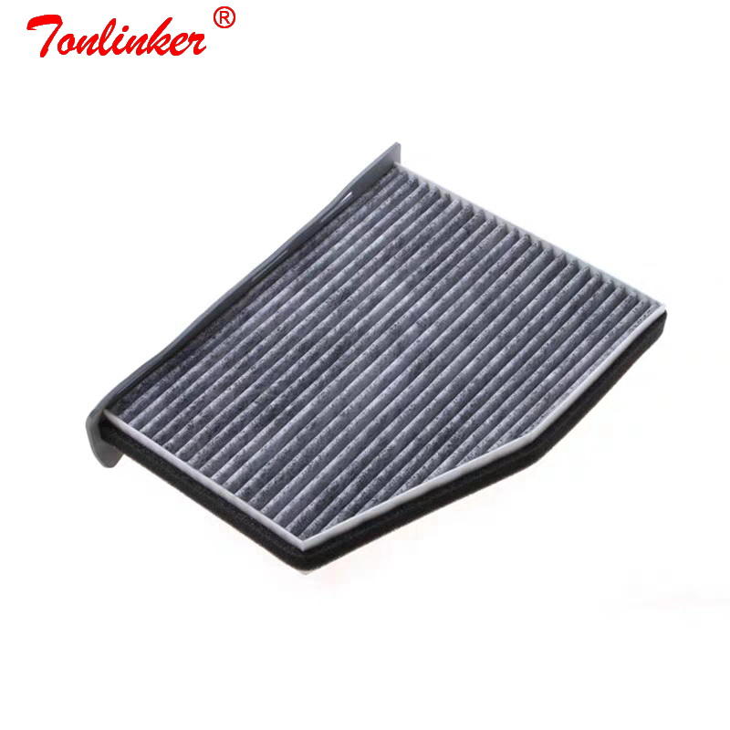 Image 2 - Cabin Air Filter Set For Volkswagen SHARAN TIGUAN TOURAN CC EOS GOLF 5 6 CADDY JETTA3 4 Model 2004 2008 09 2016 Car Accessories-in Air Filters from Automobiles & Motorcycles