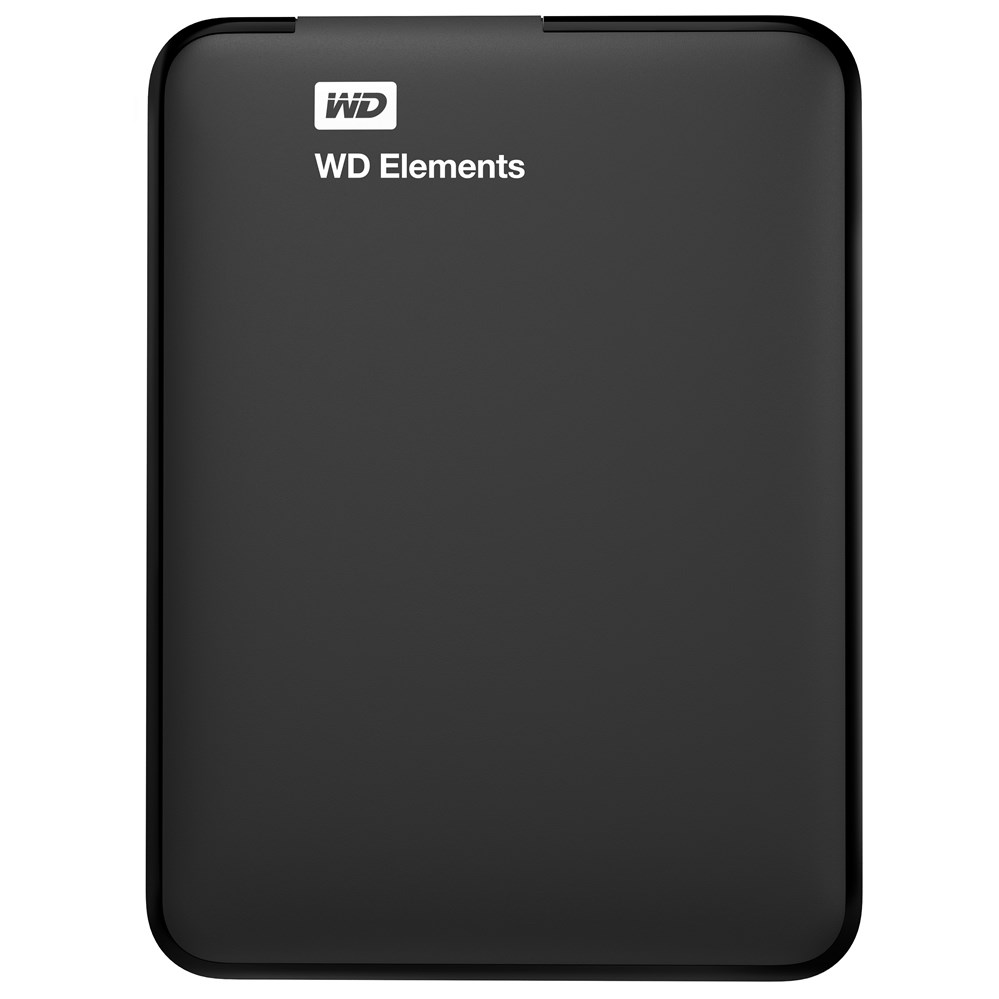 "Western Digital WD Elements Portable <font><b>500</b></font>/1000/1500/2000 <font><b>GB</b></font> <font><b>2.5</b></font>"" Micro-USB B 3.0 (3.1 Gen 1) 5000 Mbit/s Black image"