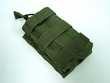 Tactical Airsoft Molle Open Top Magazine/Walkie Talkie Pouch