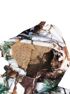 Image 5 - コールド天気厚み裏地フリース松迷彩雪バイオニック狩猟コートジャケットとズボン冬防水ghillieのスーツ