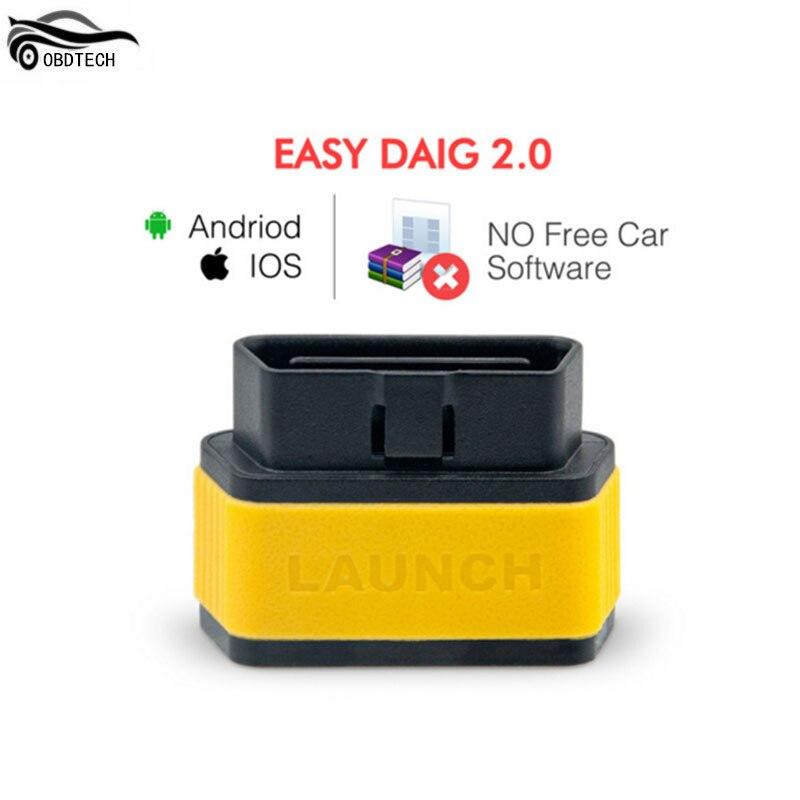 Цена за Продвижение 100% оригинал старта X431 Легко Diag 2.0 инструмент диагностики EasyDiag 2.0 для Android/IOS Сканер обновление онлайн Easydiag2.0