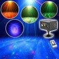 ИК Управления RG Лазерная Освещение Сцены Эффект, RGB Полный Цвет LED Galaxy Метеор Этап Лазерное Шоу Партии Диско DJ огни