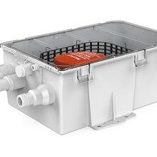 SEAFLO 750GPH 12 В автоматический водный насос фильтр со встроенным поплавковым переключателем душевой насос несколько входных портов