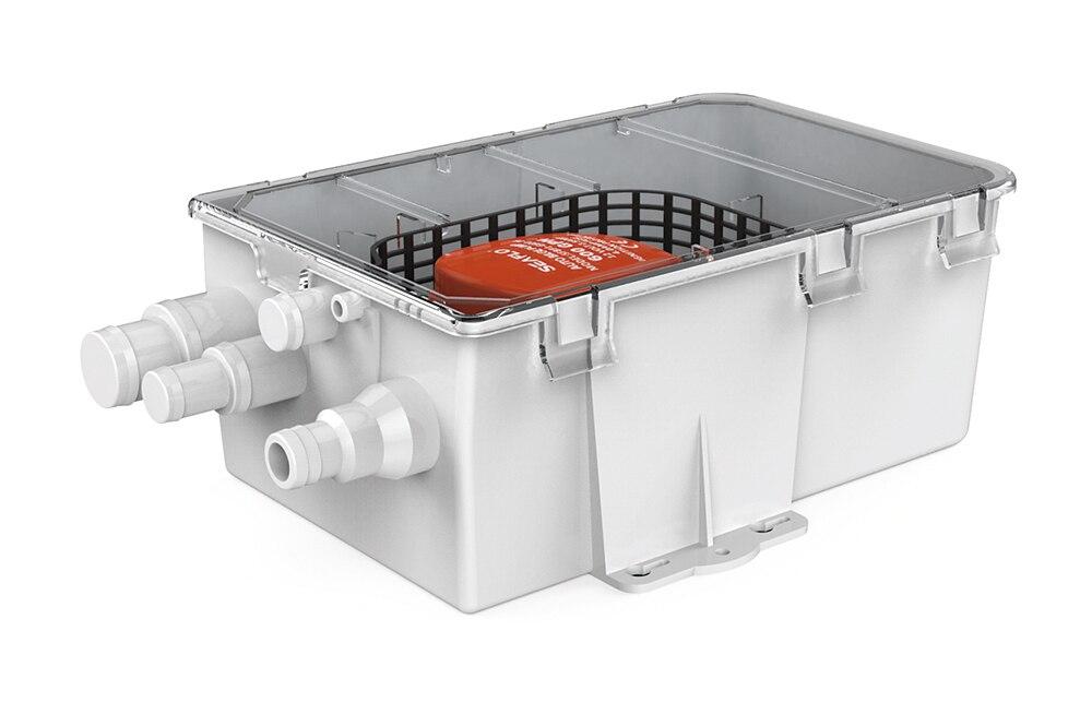 Filtre automatique de pompe à eau de naflo 750GPH 12 V avec le flotteur intégré commutent la pompe de douche plusieurs ports d'entrée