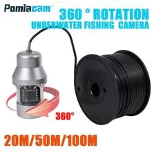 F08S 20 м/50 м/100 м 1000TVL рыболокатор подводная камера для подледной рыбалки 18 шт. светодиодный 360 градусов камера для рыбалки с камерой