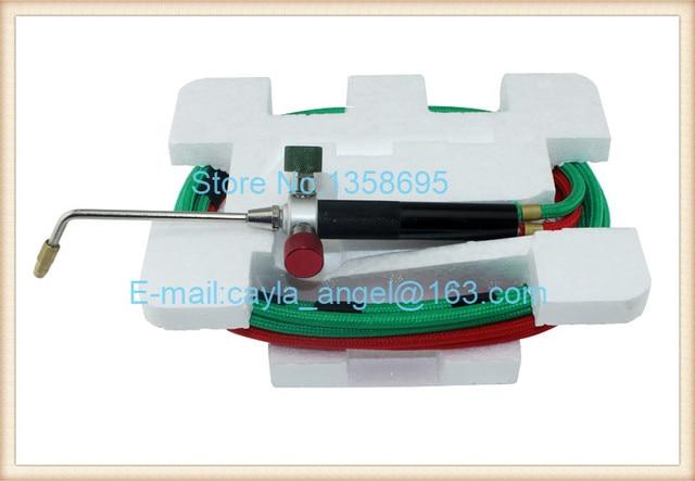 Goudsmid Little Propaan Torch Kit Mini Gas Lastoorts Apparatuur Zuurstof Torch Sieraden Maken Tool 1 Set met 5 Tips