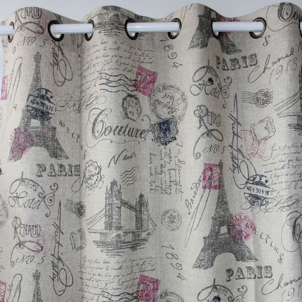 Country Star Kitchen Curtains