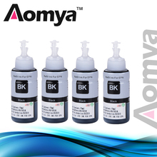 Купить с кэшбэком Specialized Black Dye Ink For Epson Ink Tank System Inkjet Printer L350 L362 L366 L550 L555 L566 L800 L801 L805 L100 L110 L120