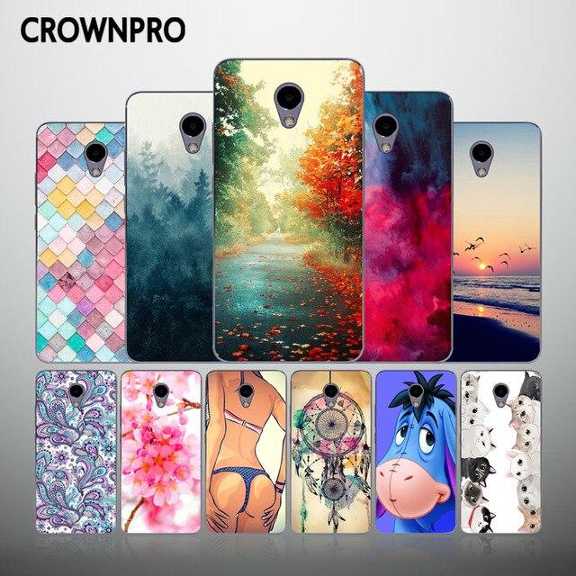CROWNPRO M5 Note Phone Cases 5.5'' Meizu M5 Note Case Cover Silicone Soft TPU Meizu M5 Note Back Cover Meizu M 5 Note Fundas