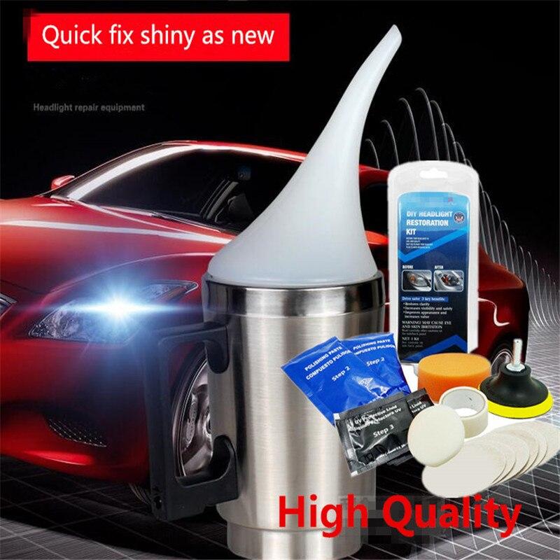 Zibbor Com Suv Car Headlight Lens Restoration Kit Headlight