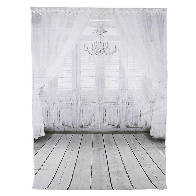5X7ft Vintage Background Indoor Wood Grain Wall Floor Photography Backdrop Photo Studio Props 1 5x2 1m