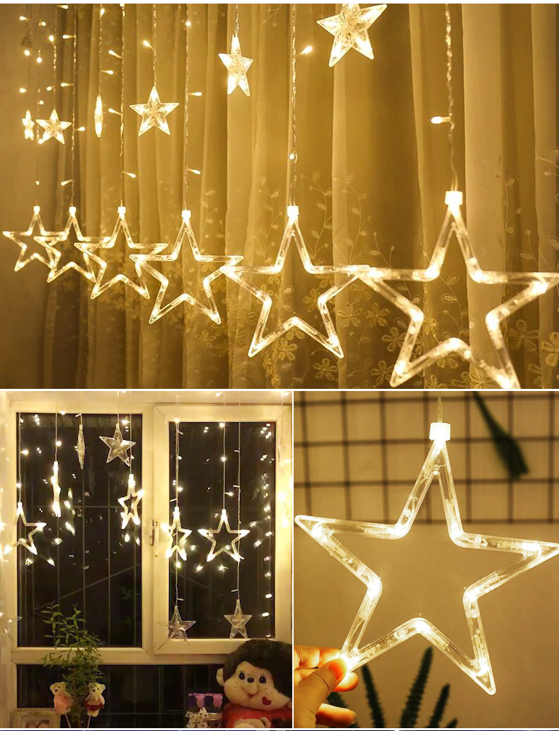 HTB1cKhtXiLrK1Rjy1zdq6ynnpXaF - Christmas Decorations for Home Fairy Lights Outdoor Indoor Led String light Party Weeding Adornos Navidad Natal Ornaments Decor