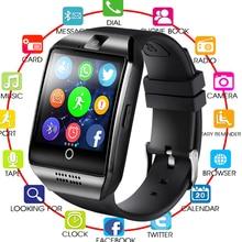 2019 QUNIWO Bluetooth Smart Watch Men Q18 With Touch Screen