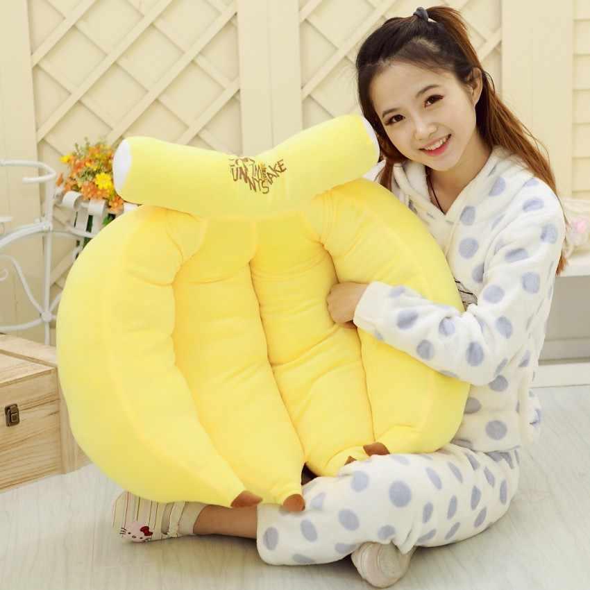 Новый дизайн банан декоративные фрукты подушечка диванная подушка с внутренним Home Decor диван Emulational игрушки