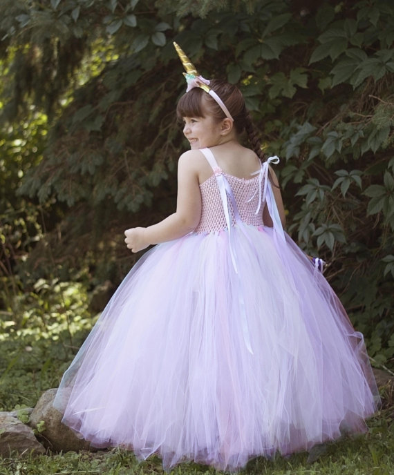 1fc3ea2a88 This beautiful unicorn tutu dress will make your little girl s special day  sparkle!