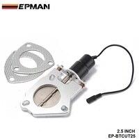 EPMAN 2 5 Electric Exhaust Cutout Remote Control Motor Kit EP BTCUT25