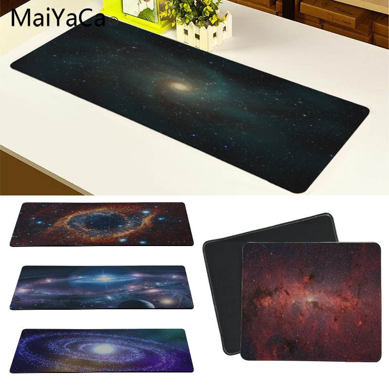 MaiYaCa Universe and starry sky Customized laptop Gaming mouse pad Size for 30x60cm and 30x90cm Gaming Mousepads