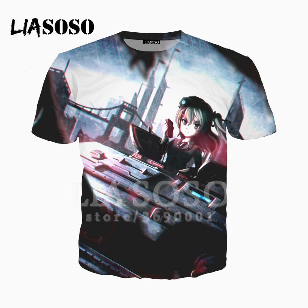 e67631d4314 LIASOSO 3D Print Unisex Anime GIRLS And PANZER Funny Kawaii Loli ...
