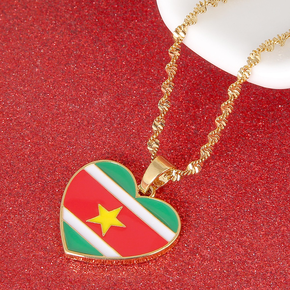 Elegant-Store-A Ghana Country Map with State Name Pendant Necklaces Charm Ghanaian Jewelry Gifts