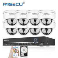 MISECU 8CH 1080P 48V PoE P2P HDMI 8pc 2 0MP IR Vandalproof PoE Metal IP Camera