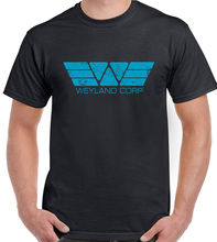Weyland Corp Distressed Look - Mens T-Shirt Retro Alien Predator Prometheus Film New T Shirts Funny Tops Tee  free shipping