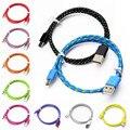 Precio de fábrica binmer usb 3.1type-c alambre trenzado 1 m $ number pies de cable de datos de carga de nylon sept30