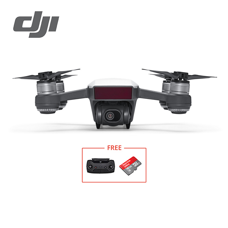 DJI Spark (Remote Controller and 16GB Micro SD card free) max 16 MIN Flight  Time 12 MP Effective Pixels 50 KM/H Speed