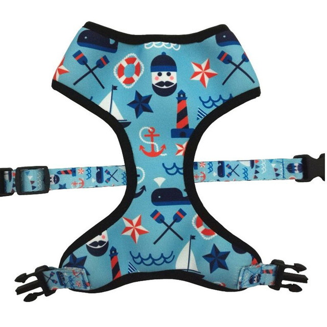 Neoprene New Hot Reversible Dog Vest Harness With Christmas Holidays