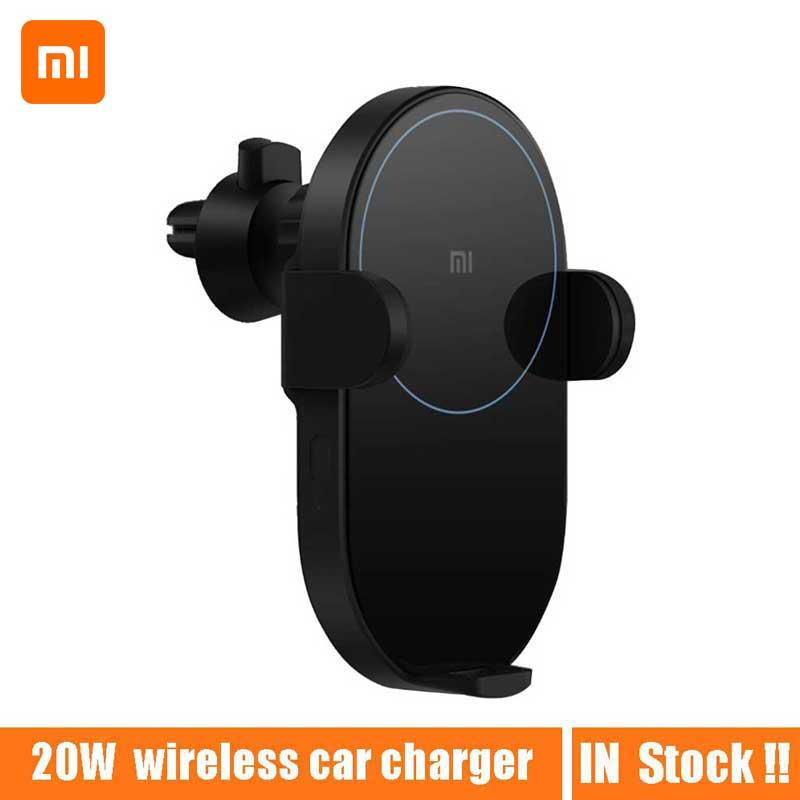 Original Xiaomi Wireless Car Charger 20W Max Qi Quick Charging Mi Wireless Car Charger for Mi 9 iphone X XS Sumsang in stock