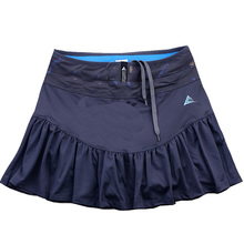 купить Women's Tennis Sports Skirt Breathable Short Skirt Quick Dry Sports Skirt Fishtail Skirt Wicking Running Badminton Skort недорого