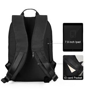Image 5 - جديد وصول USB شحن محمول على ظهره 15.6 بوصة الرجال الحقائب المدرسية للمراهقين كلية حقيبة السفر الذكور Mochilas M808