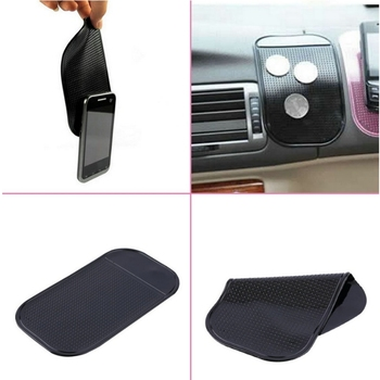 Silica Gel Magic Sticky Pad Anti-Slip Non Slip Mat for Car DVR GPS for iphone car sticker/key mount holder car-style image