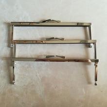 """Quadros da bolsa de Metal, retangular de 8 """"x 2.5"""" Antique Brass FH08M AB 5 pcs Moda DIY Acessórios Bolsa Quadro Bolsa Alça Metálica"""
