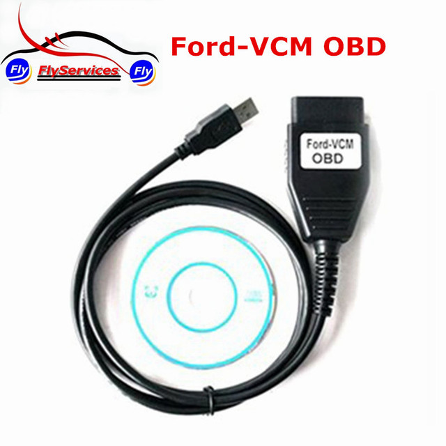 Latest Version Obd Diagnostic Tool Scanner For Ford Vcm Obd Auto Usb Diagnostic Cable For