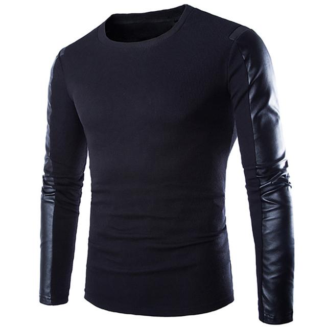2016 nuevo de Alta calidad de Marcas de los Nuevos hombres de Invierno O-cuello Suéter Jumpers pullover sweater hombres marca