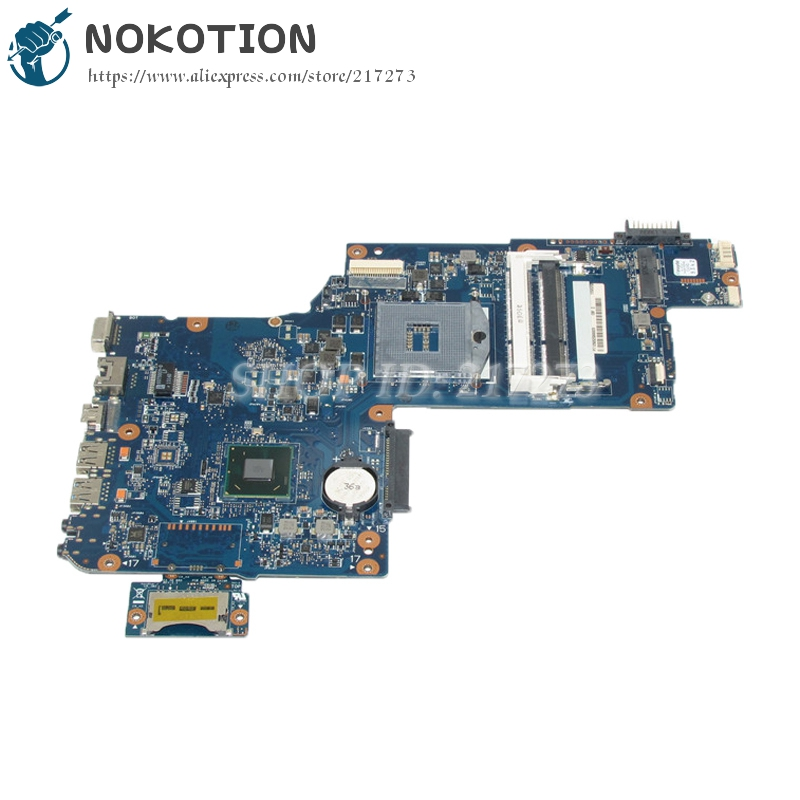 NOKOTION H000041590 Notebook PC Motherboard For Toshiba satellite C870 L870 SLJ8E HM76 DDR3 Main Board h000041590 main board for toshiba satellite c870 l870 laptop motherboard slj8e hm76 ddr3 full tested