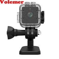 SQ12 미니 방수 카메라 360도 광각 렌즈 HD 1080 마력 넓은 각도 미니 캠코더 DVR SQ12 미니 스포츠 비디오 카메라 PK SQ11