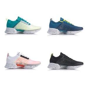 Image 3 - Li Ning Men CLOUD COOL Cushion Running Shoes PROBAR LOC Breathable Mono Yarn LI NING li ning CLOUD Sport Shoes ARHP031 XYP924